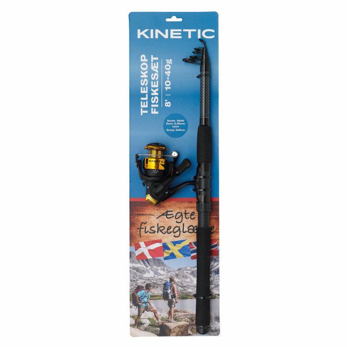 Fiskesæt teleskop 8' - Kinetic