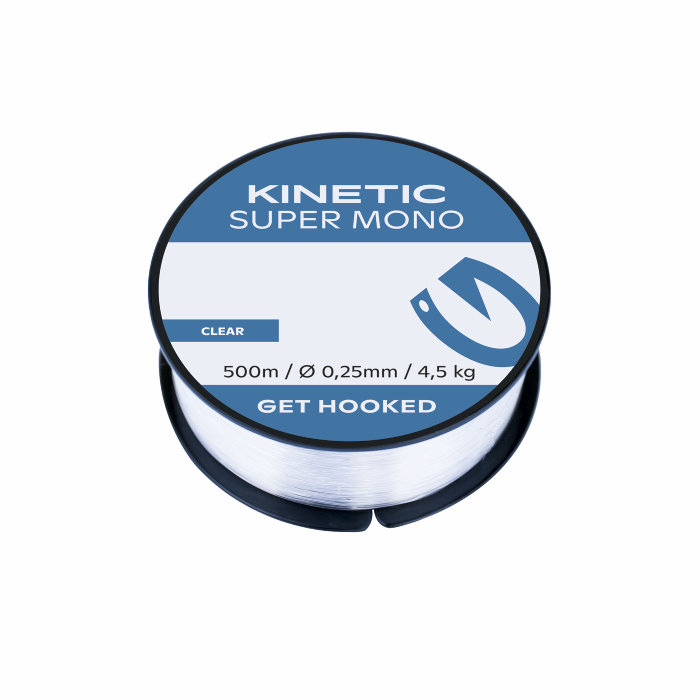 Fiskeline 500 meter Super Mono - Kinetic