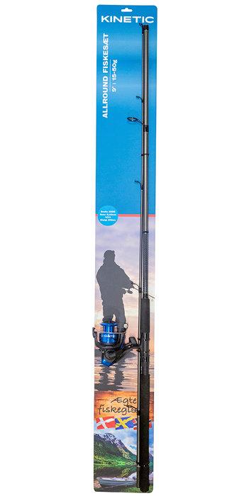 Fiskesett 270 cm/9' - Kinetic