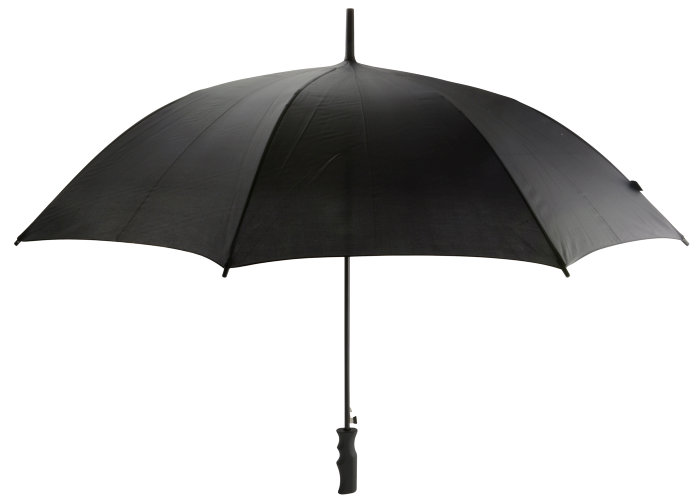 Paraply Ø95 cm sort