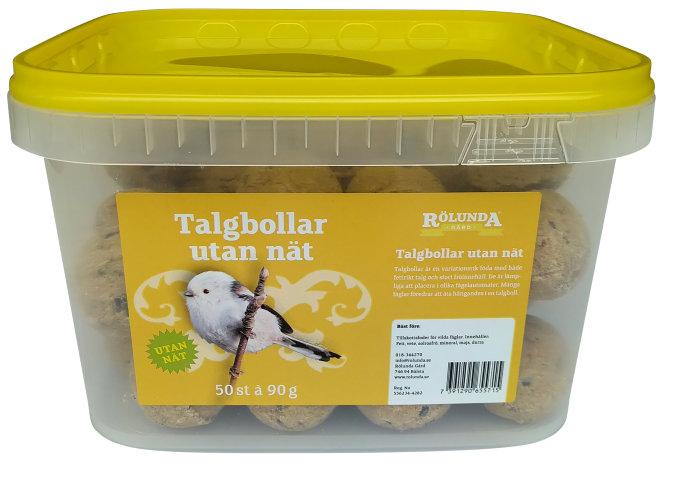 Talgbollar 50-pack