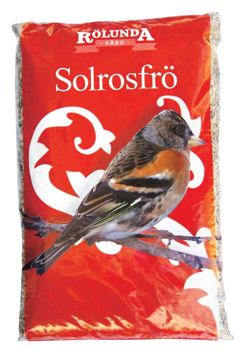 Solrosfrö till vilda fåglar 4 kg