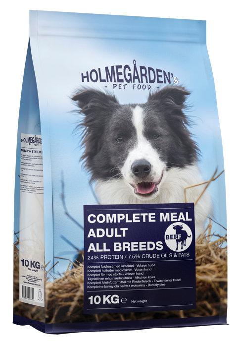 Holmegårdens hundemat oksekjøtt 10 kg