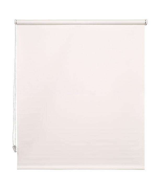 Rullegardin hvid 100 x 175 cm mørklægning