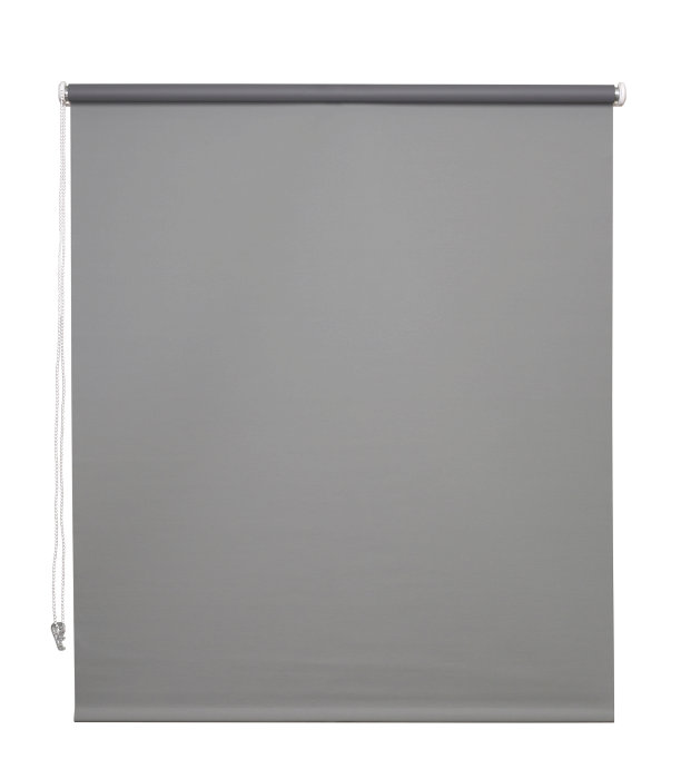Rullegardin grå 120 x 175 cm mørklægning