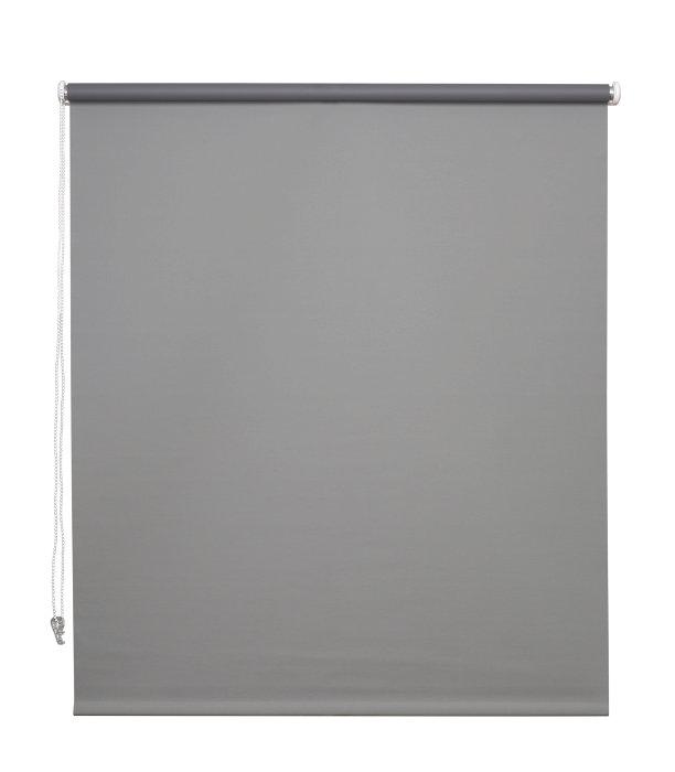Rullegardin grå 140 x 175 cm mørklægning