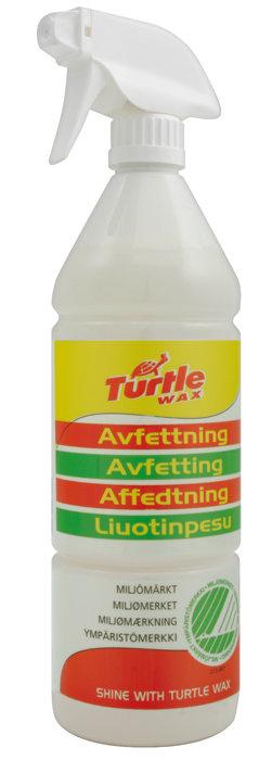 Avfettning Turtle