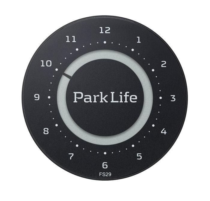 Park Life parkeringsskive carbon black