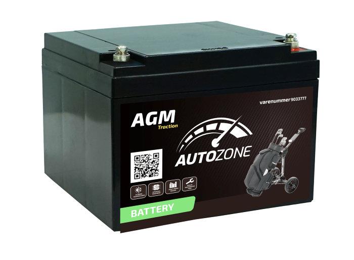 Batteri 12V 28Ah (+h)