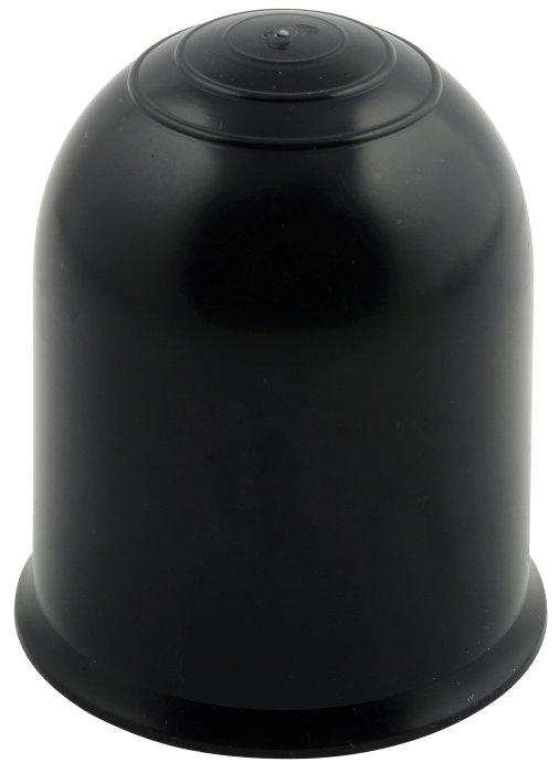 Anhængerknop sort plast