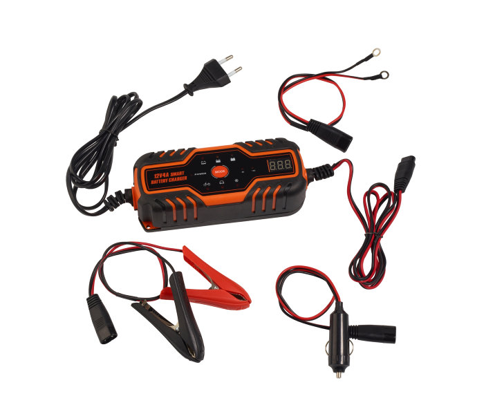 Batterilader intelligent til 6V/12V