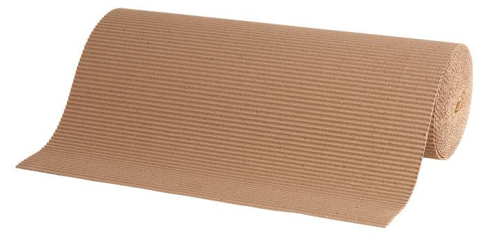 Bølgepap rulle - 0,5 x 10 meter