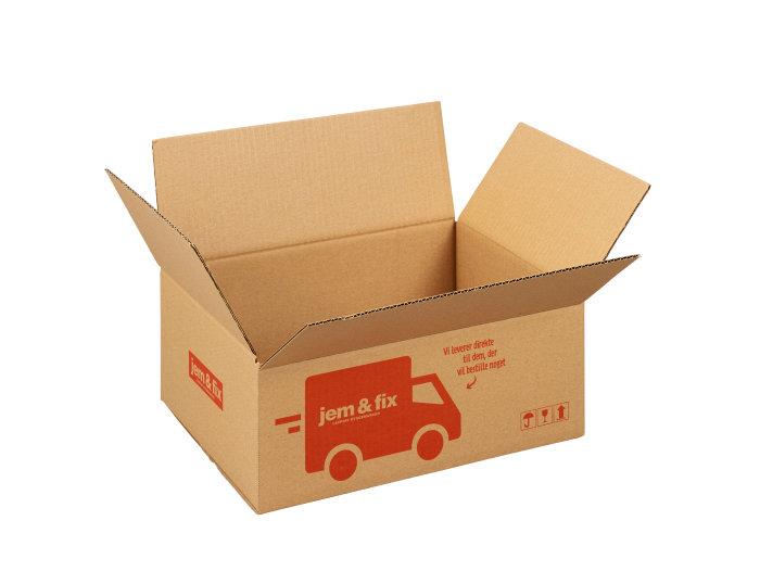 Forsendelseskasse - 9 liter - L32 x B24 x H12 cm