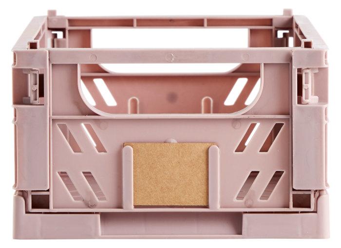 Opbevaringskasse lille rosa