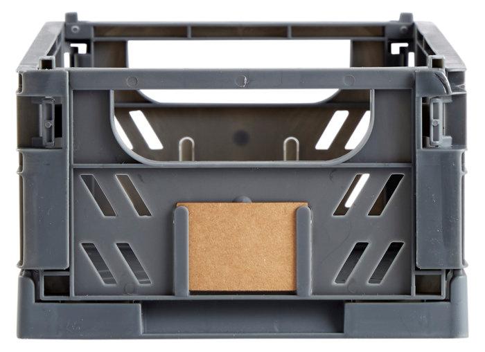 Opbevaringskasse lille grå