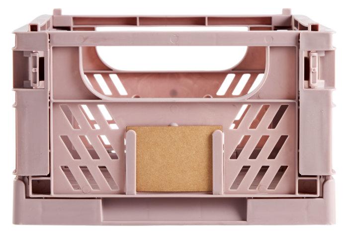 Opbevaringskasse stor rosa