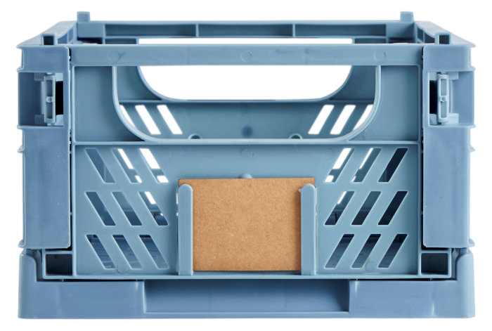 Opbevaringskasse stor blå