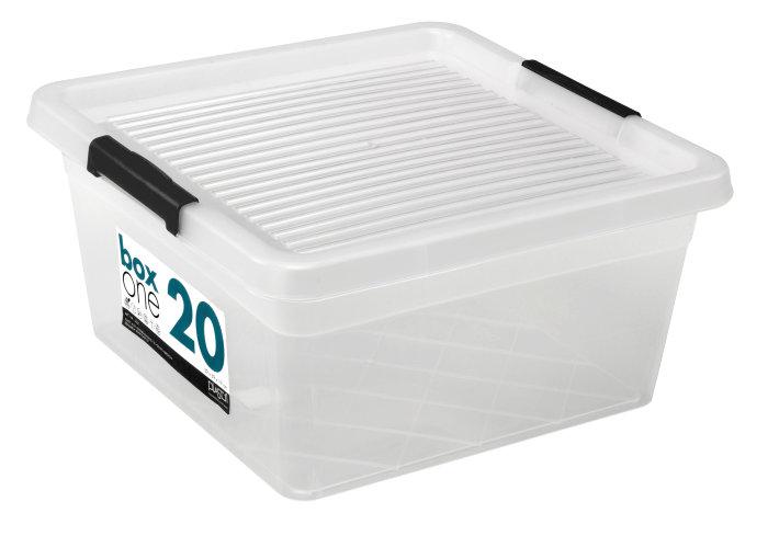 Opbevaringskasse BoxOne 20 liter - Plast1
