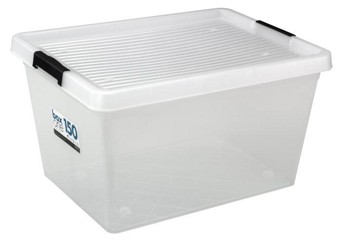 Opbevaringskasse BoxOne 150 liter - Plast1