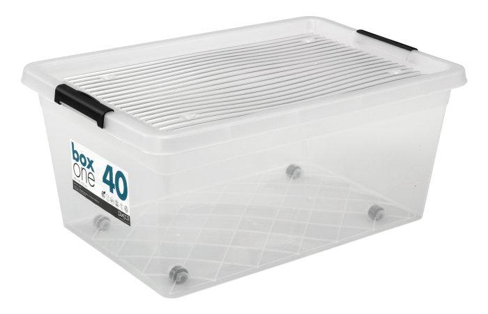 Opbevaringskasse BoxOne 40 liter - Plast1