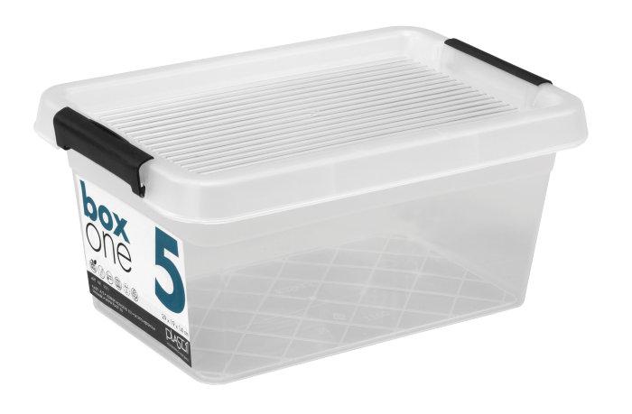 Opbevaringskasse BoxOne 5 liter - Plast1