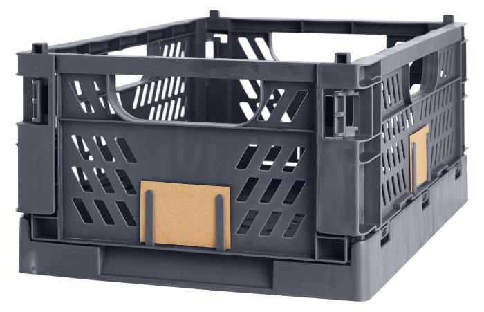 Opbevaringskasse stor grå