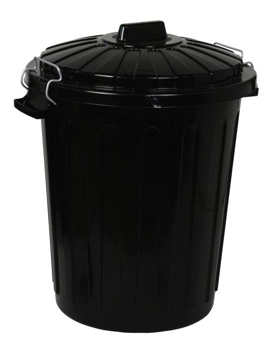 Affaldsspand med låg på 70 liter fra Curver