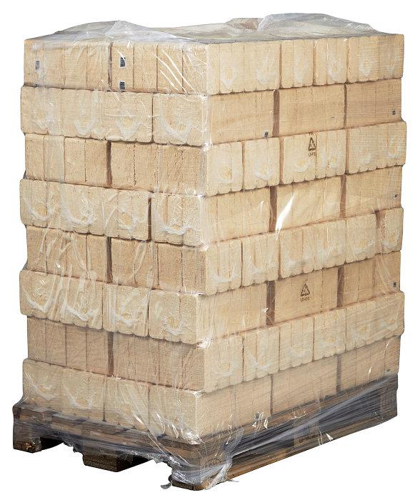 Træbriketter - palle á 96 pakker