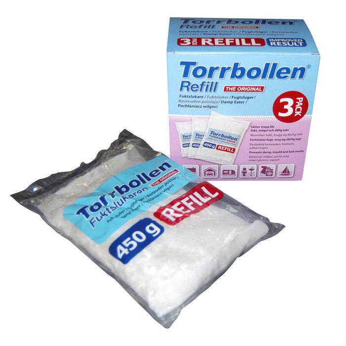 Refill Torrbollen