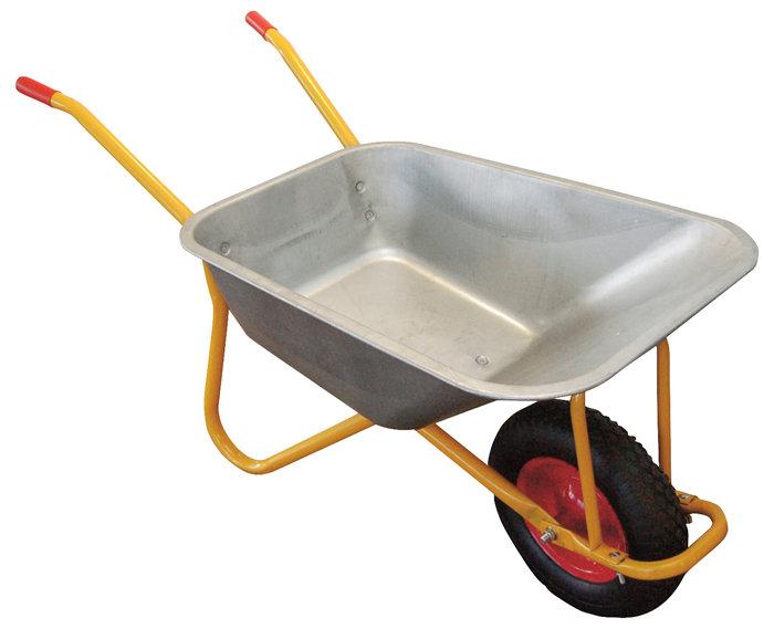 Betonbør 110 liter/150 kg luftgummihjul - Garden