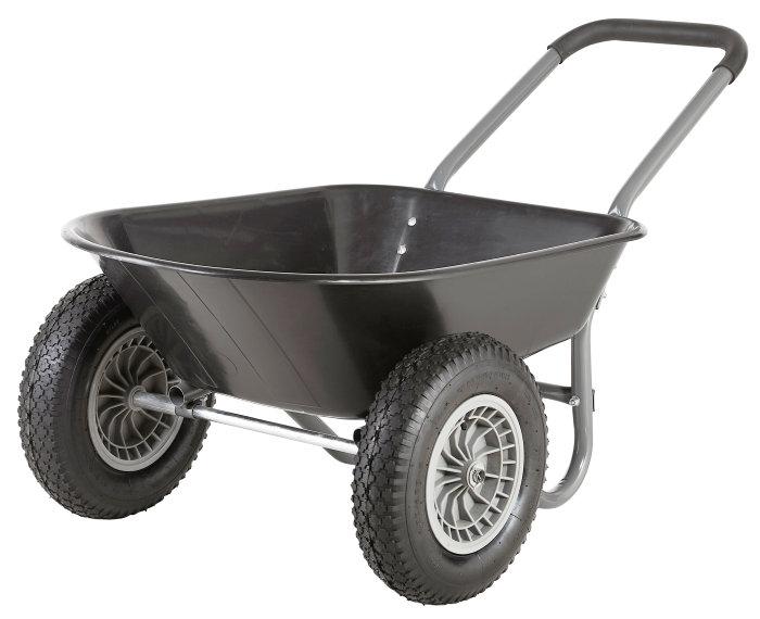 Trillebør 2 hjul - 80 liter