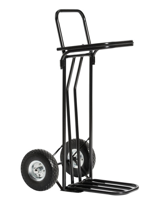 Sække-/skraldevogn m/udfaldsrampe 150 kg