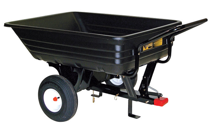 Påhængsvogn med tip 159 kg - MTD