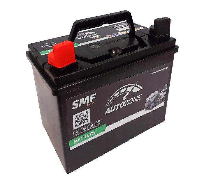Hagetraktorbatteri 28 ah (+v)