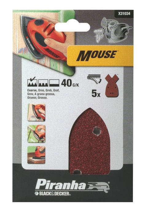 Slippapper mouse