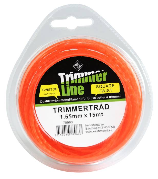 Trimmertråd 1,65 mm