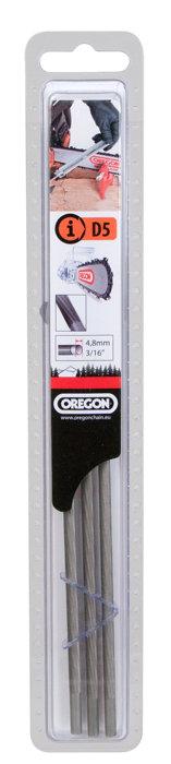 """Oregon rundfile 4,8 mm til 0,325"""" savkæder - 3 stk."""