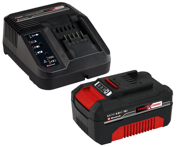 Batteri & laddare Startkit 18V Einhell