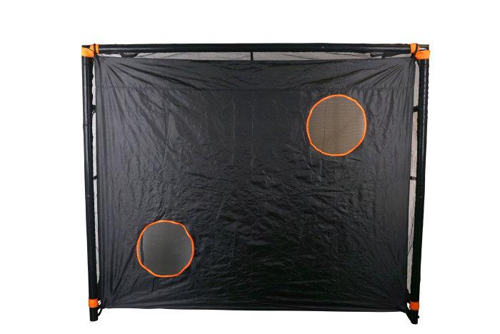 Fodboldmål til haven - 244 x 90 x 200 cm