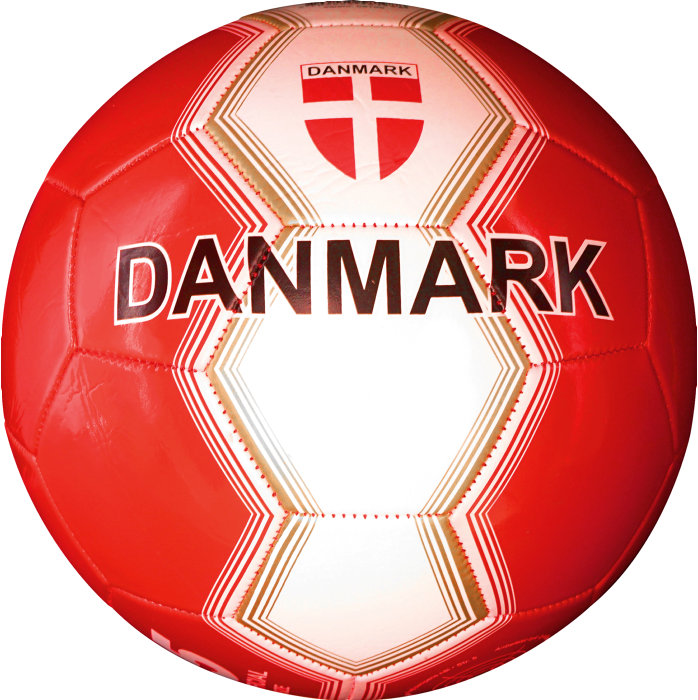 Fodbold Danmark PVC str. 5