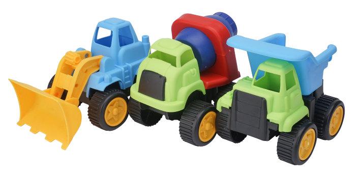 Biler i plast