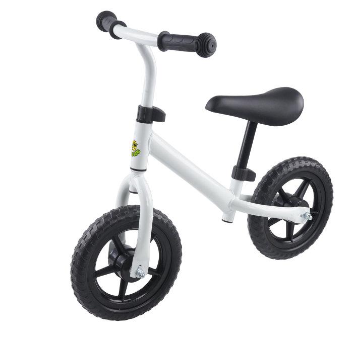 Løbecykel hvid/sort