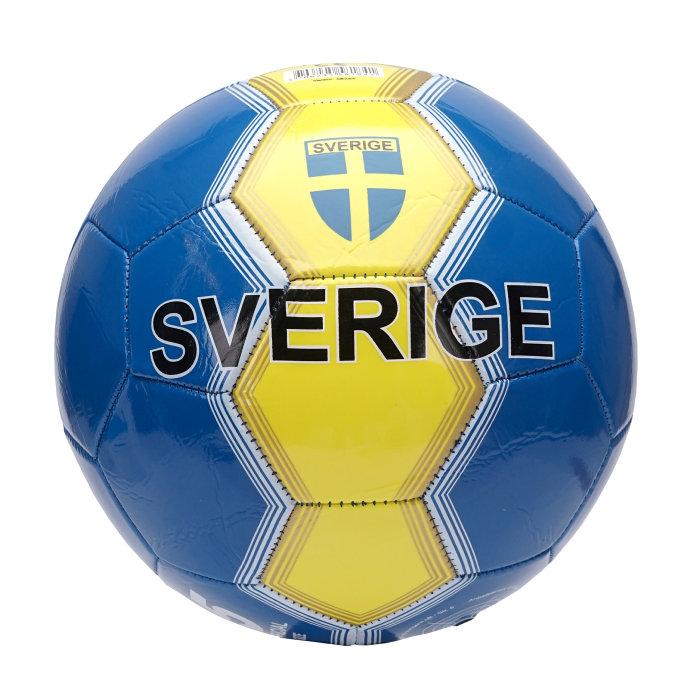 Fotboll Sverigemotiv