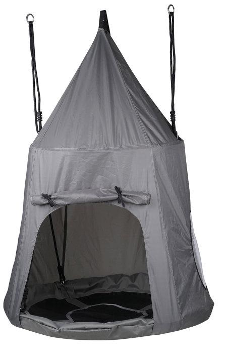 Jättegunga med tält