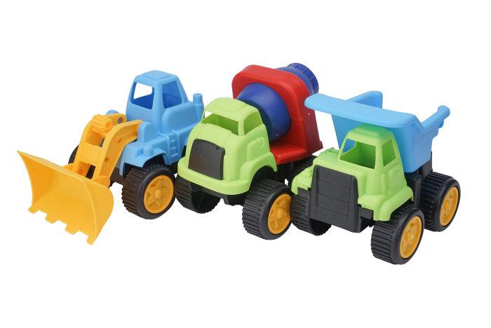 Grävmaskin/Cementblandare/lastbil