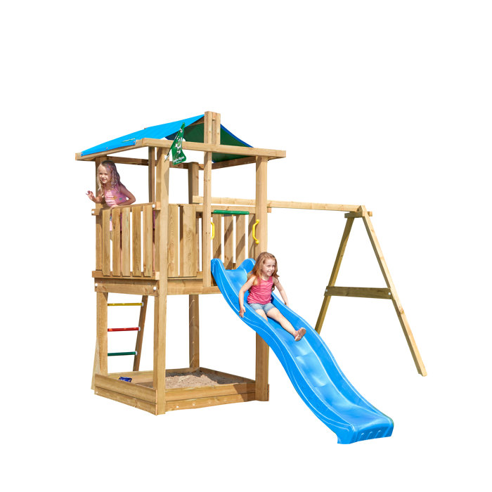 Lekställning Jungle Gym Hut
