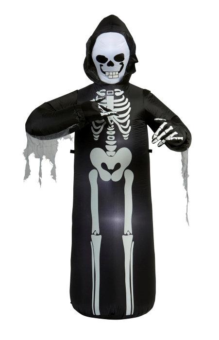 Halloween figur med LED-lys 215 cm