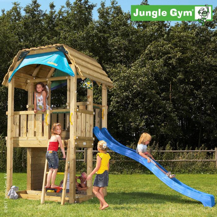 Jungle Gym Barn legetårn inkl. rutsjebane