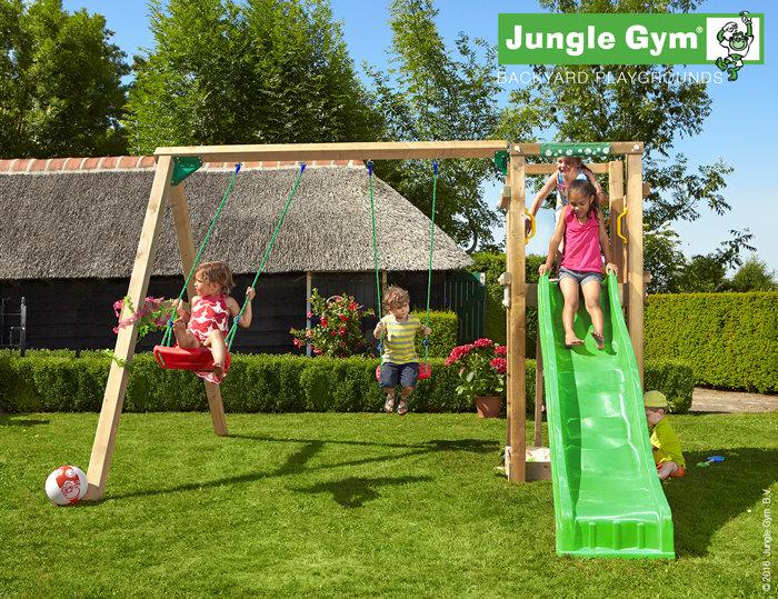 Jungle Gym Tower legetårn med gyngemodul
