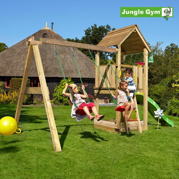 Jungle Gym Club legetårn m/gyngemodul